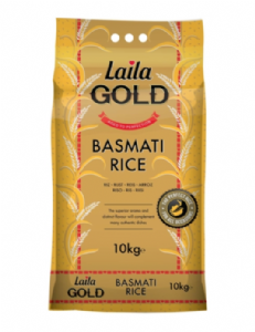 10KG Laila GOLD Basmati Rice | Buy Online at the Asian Cookshop
